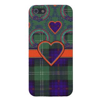 Tartán escocés de la falda escocesa de la tela iPhone 5 cobertura