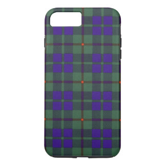 Tartán escocés de la falda escocesa de la tela funda iPhone 7 plus