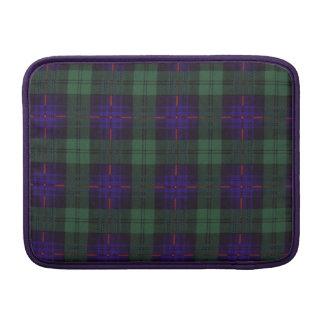 Tartán escocés de la falda escocesa de la tela funda  MacBook