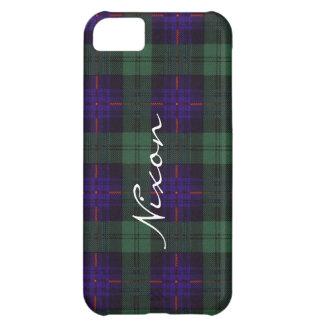 Tartán escocés de la falda escocesa de la tela funda para iPhone 5C