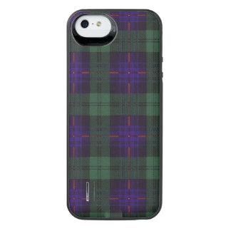 Tartán escocés de la falda escocesa de la tela funda power gallery™ para iPhone 5 de uncommon