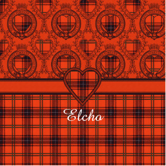 Tartán escocés de la falda escocesa de la tela imán fotoescultura