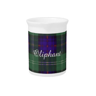Tartán escocés de la falda escocesa de la tela jarra