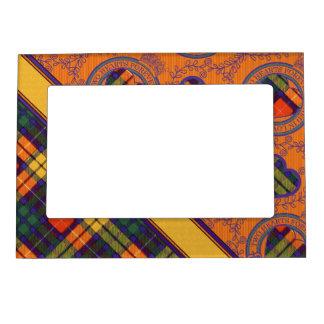 tartán escocés de la falda escocesa de la tela marcos magnéticos