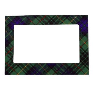 Tartán escocés de la falda escocesa de la tela marcos magnéticos de fotos