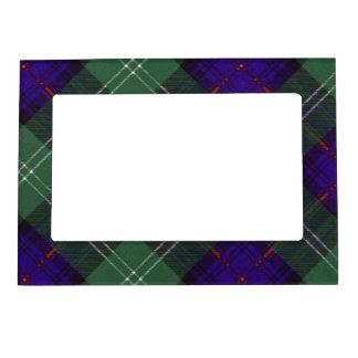 Tartán escocés de la falda escocesa de la tela marcos magnéticos para fotos