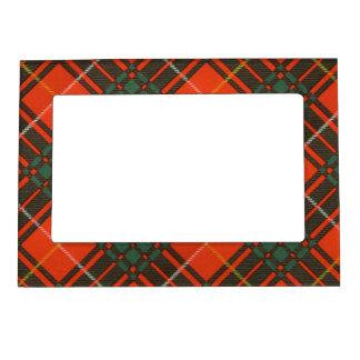 Tartán escocés de la falda escocesa de la tela marcos magneticos para fotos