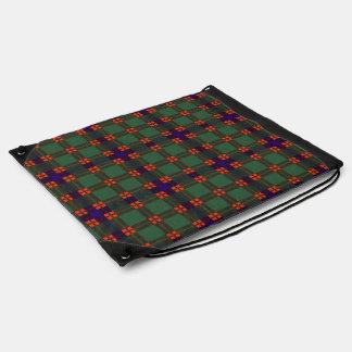 Tartán escocés de la falda escocesa de la tela mochila