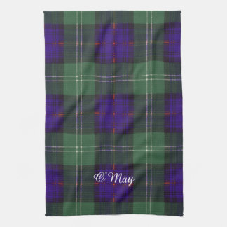 Tartán escocés de la falda escocesa de la tela toalla