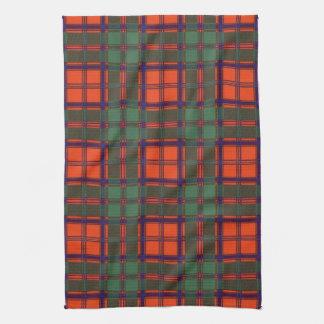 Tartán escocés de la falda escocesa de la tela toallas