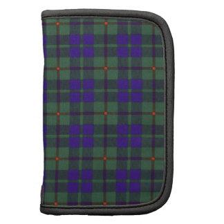 Tartán escocés de la falda escocesa de la tela organizador