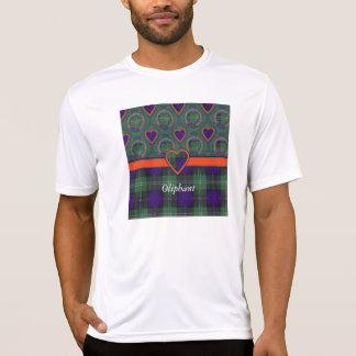 Tartán escocés de la falda escocesa de la tela camisetas