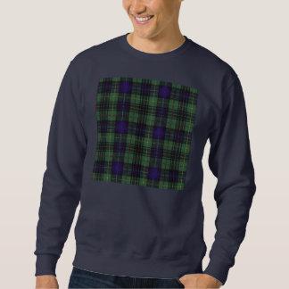 Tartán escocés de la falda escocesa de la tela pullover sudadera