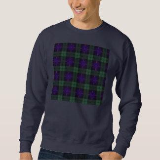 Tartán escocés de la falda escocesa de la tela pulóvers sudaderas
