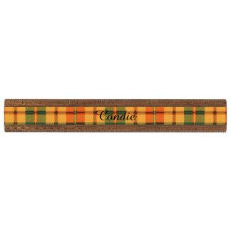 Tartán escocés de la falda escocesa de la tela regla de nogal