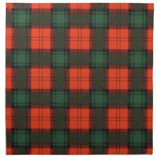 Tartán escocés de la falda escocesa de la tela servilletas