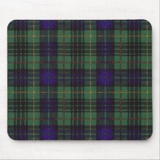 Tartán escocés de la falda escocesa de la tela tapetes de ratón