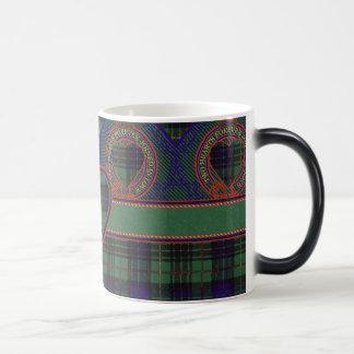 Tartán escocés de la falda escocesa de la tela taza mágica