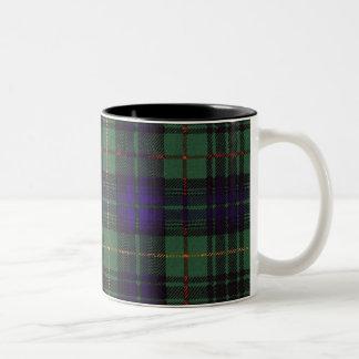 Tartán escocés de la falda escocesa de la tela taza dos tonos