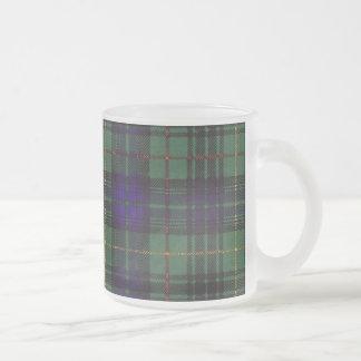 Tartán escocés de la falda escocesa de la tela taza cristal mate