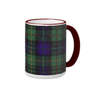 Tartán escocés de la falda escocesa de la tela taza a dos colores