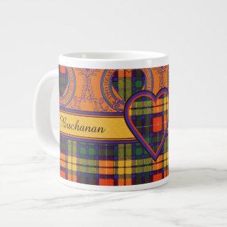 Tartán escocés de la falda escocesa de la tela taza grande