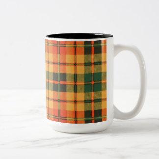Tartán escocés de la falda escocesa de la tela taza de dos tonos