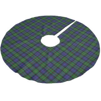 Tartán escocés de MacEwen Ewen del clan Falda Para Arbol De Navidad De Poliéster