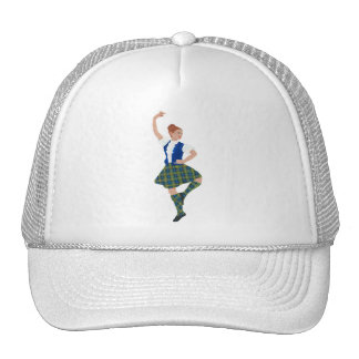 Tartán escocés de MacLaren del bailarín de la mont Gorro