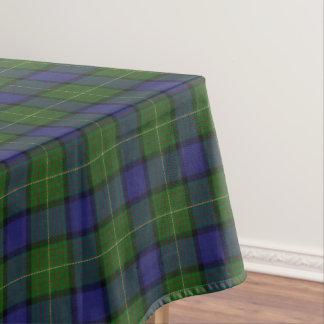 Tartán escocés de Muir del clan Mantel De Tela