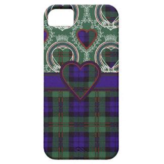 Tartán escocés del clan de Dundas - tela escocesa Funda Para iPhone SE/5/5s