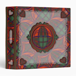 """Tartán escocés del clan de Grant - tela escocesa Carpeta 1 1/2"""""""