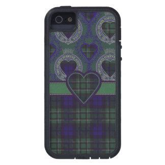 Tartán escocés del clan de Maccallum - tela iPhone 5 Case-Mate Fundas