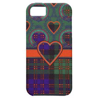 Tartán escocés del clan de Macdonald - tela iPhone 5 Case-Mate Carcasas