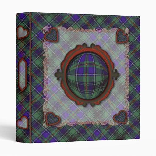 Tartán escocés del clan de Macinnes