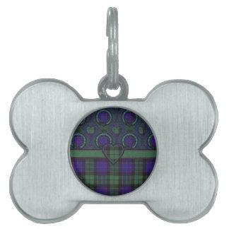 Tartán escocés del clan de Mackay - tela escocesa