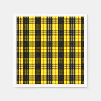 Tartán escocés del clan de MacLeod Servilletas Desechables