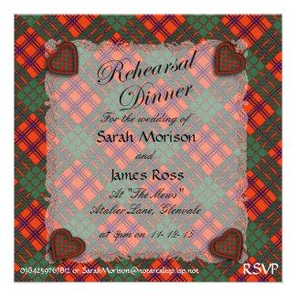 Tartán escocés del clan de Ross - tela escocesa Comunicados Personales