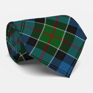 Tartán escocés del monograma de la letra C de Corbatas Personalizadas
