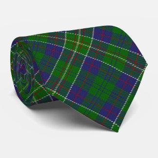 Tartán escocés del monograma de la letra H del Corbata