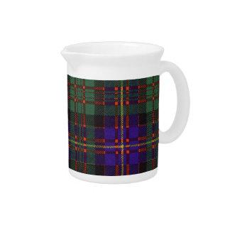 Tartán escocés real - Cameron de Erracht Jarrón