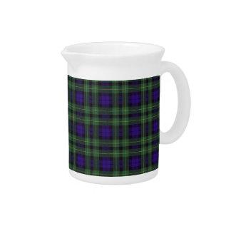 Tartán escocés real - Campbell de Breadalbane Jarra Para Bebida