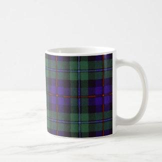 Tartán escocés real - Campbell de Cawdor Taza De Café
