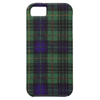 Tartán escocés real - caza de Stewart Funda Para iPhone 5 Tough