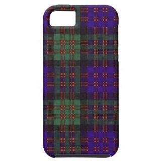 Tartán escocés real - clan de Macdonald iPhone 5 Carcasa