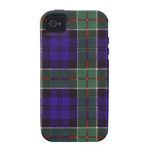 Tartán escocés real - Colquhoun iPhone 4 Carcasas