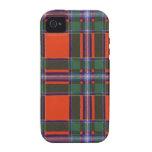 Tartán escocés real - Drummond Case-Mate iPhone 4 Funda