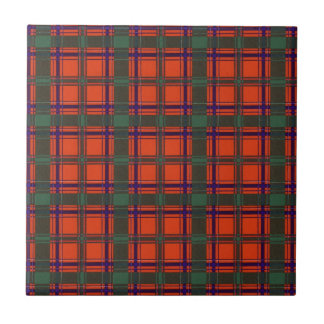 Tartán escocés real - Dunbar Azulejo Cerámica
