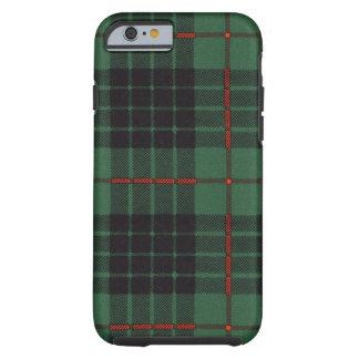 Tartán escocés real - Gunn - dibujado por Nekoni Funda De iPhone 6 Tough