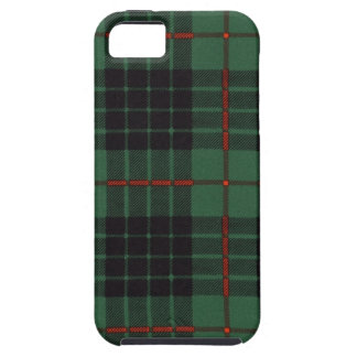 Tartán escocés real - Gunn - dibujado por Nekoni iPhone 5 Case-Mate Coberturas